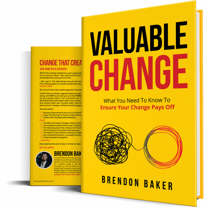 Valuable Change Book