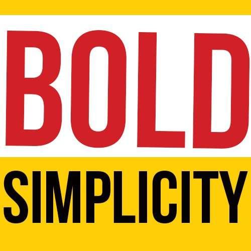 Bold Simplicity