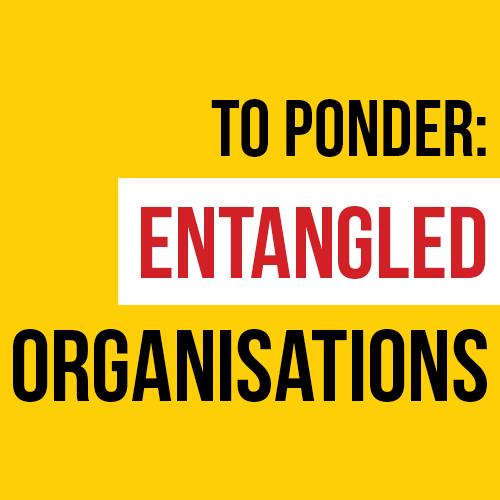 To Ponder Entangled Organisations